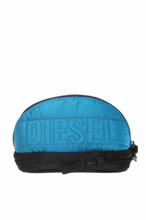 Logo-embroidered wash bag od Diesel