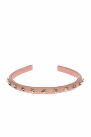 Star-studded head band od Valentino Red