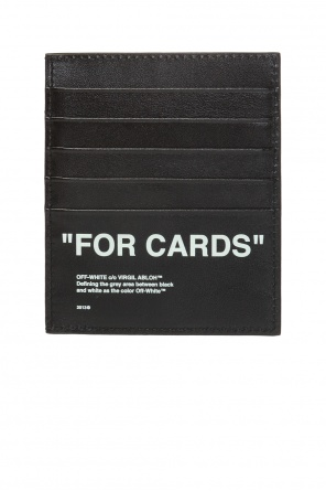 Printed card case od Off White