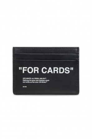 Leather card holder od Off-White