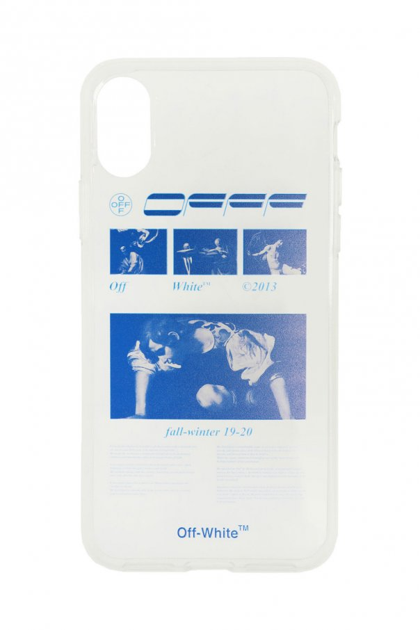 Iphone x printed case od Off White