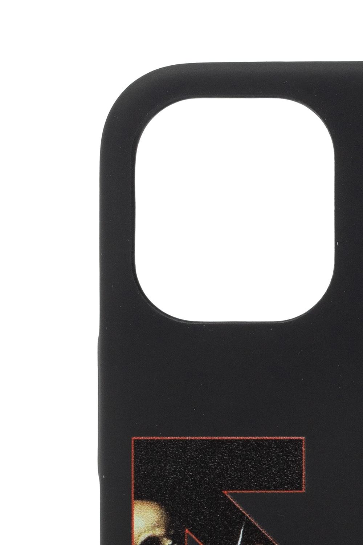 Off-White iPhone 12 Mini智能手机保护套