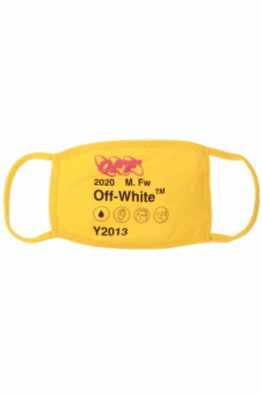 Logo-printed mask od Off White