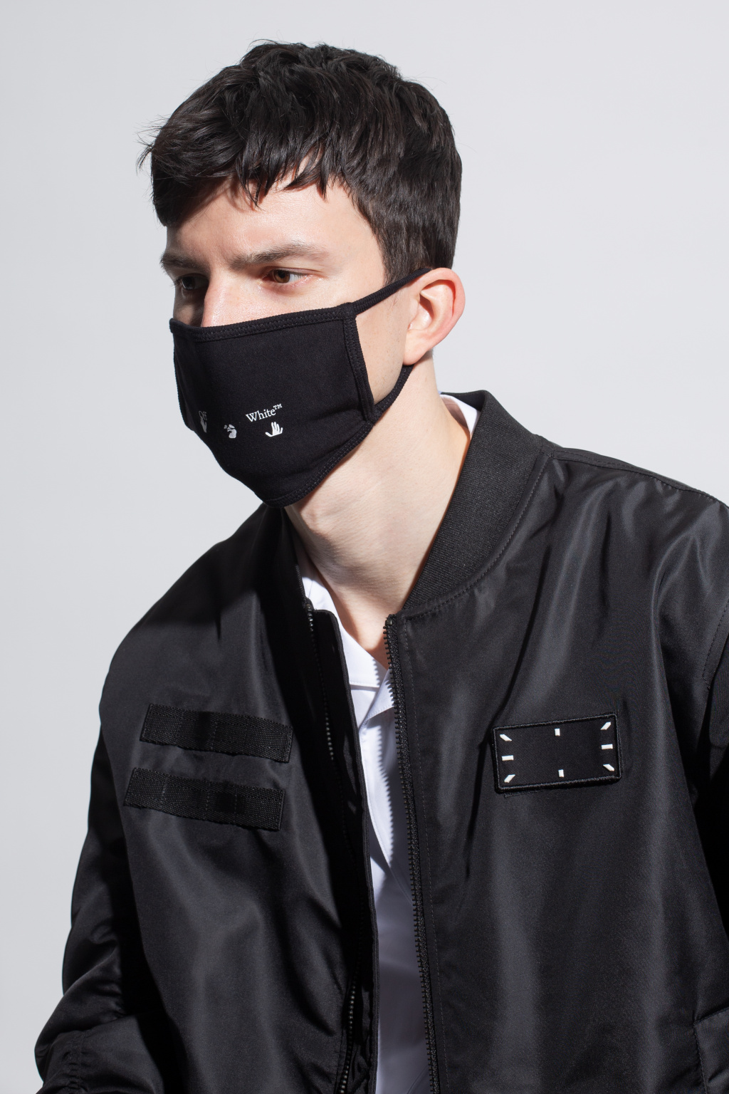 Off-White Face mask with logo