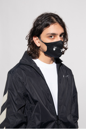 Mask with logo od Off-White