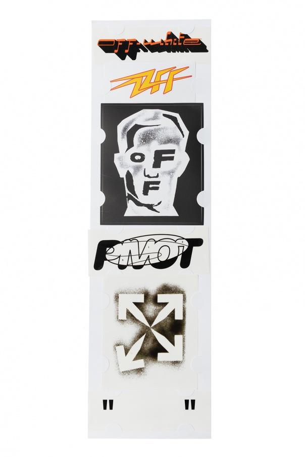 Off-White Set of logo stickers