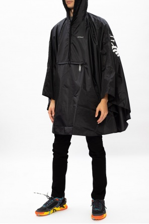Hooded poncho od Off-White
