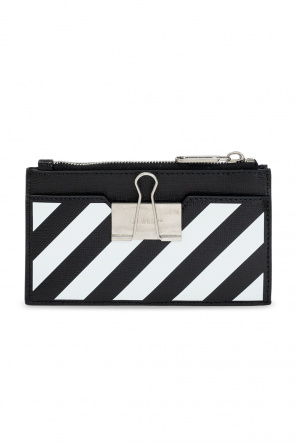 Leather card case od Off-White