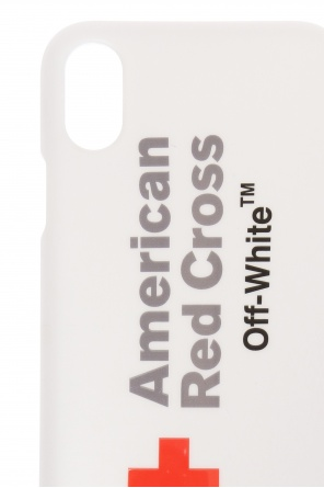 Printed iphone x case od Off White