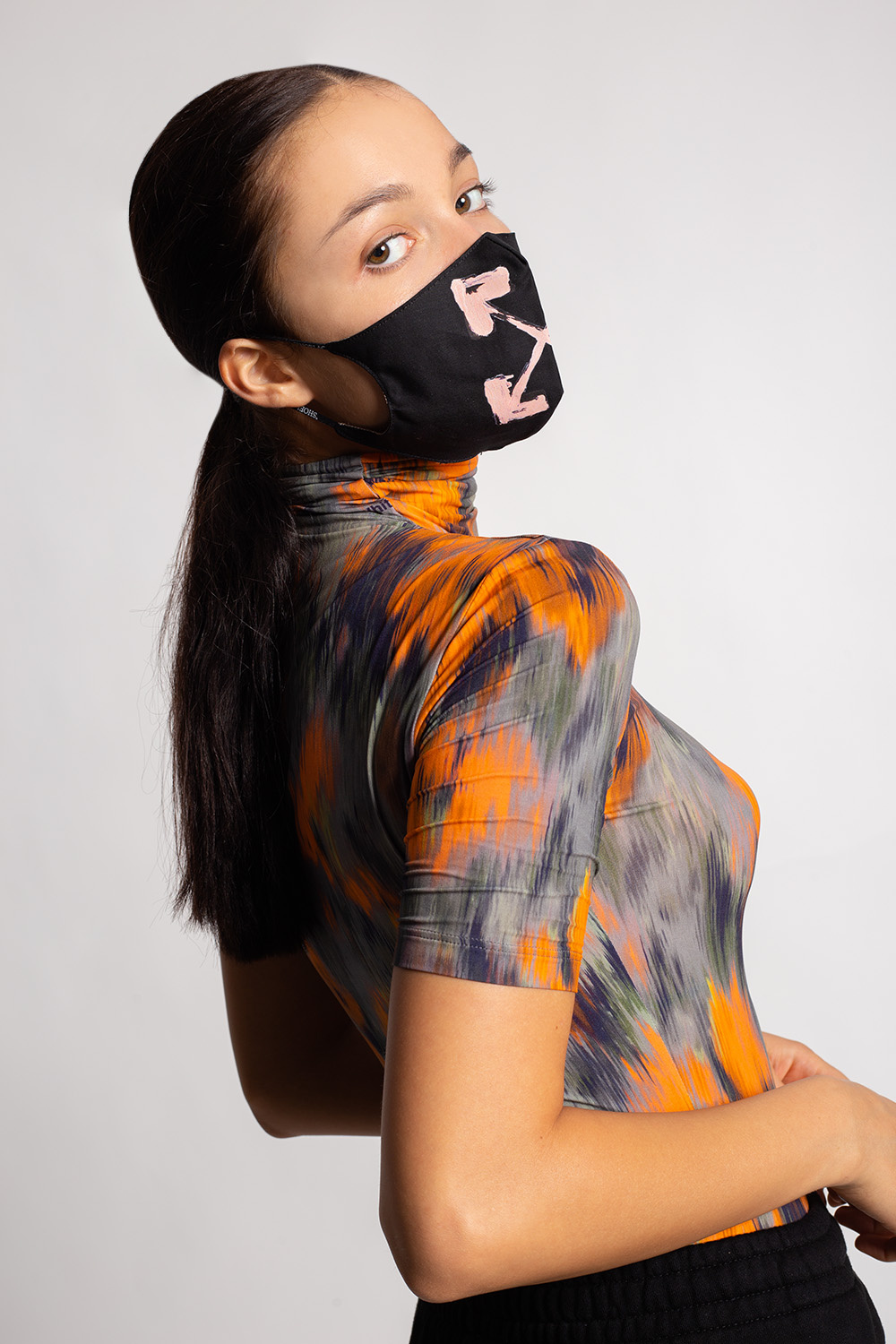 Off-White Mask with logo
