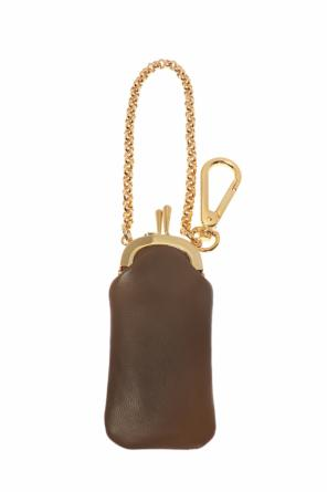 Key ring with pouch pendant od Marni