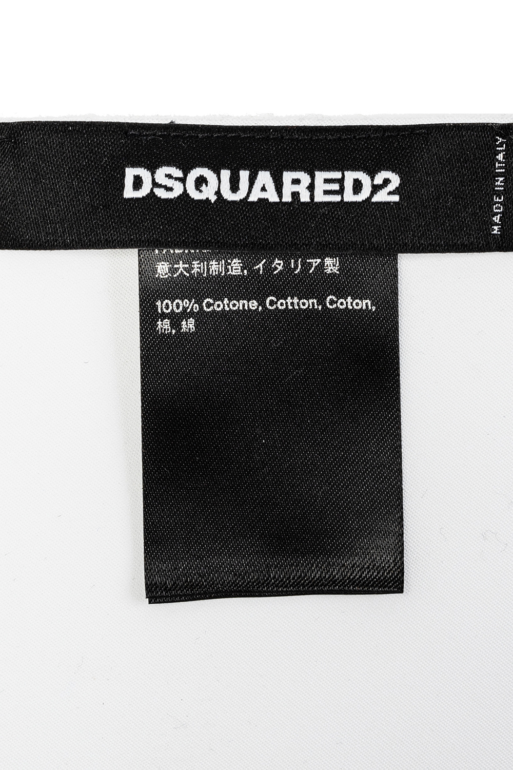 Dsquared2 Pocket square with logo