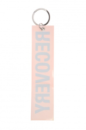 Key ring with reflective charm od Palm Angels