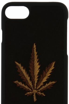 Appliqued iphone 7 case od Palm Angels