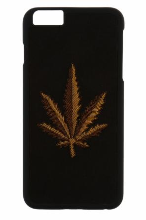 Appliqued iphone 6s case od Palm Angels