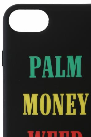Iphone 7 case with inscriptions od Palm Angels