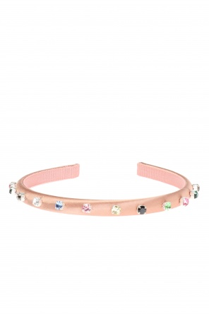 Embellished head band od Valentino Red