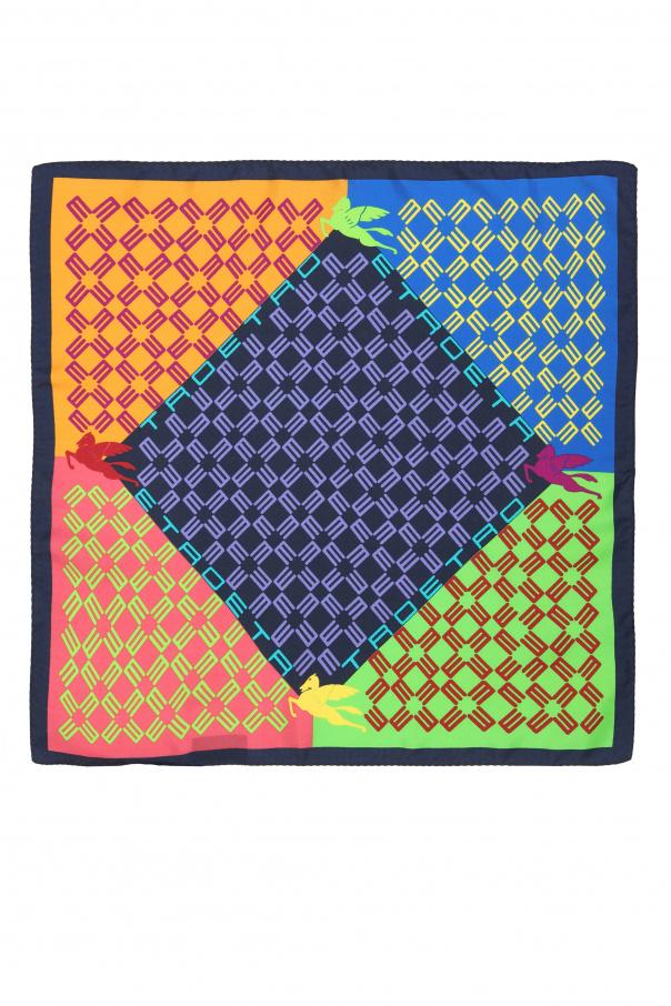 Etro 丝绸质口袋方巾