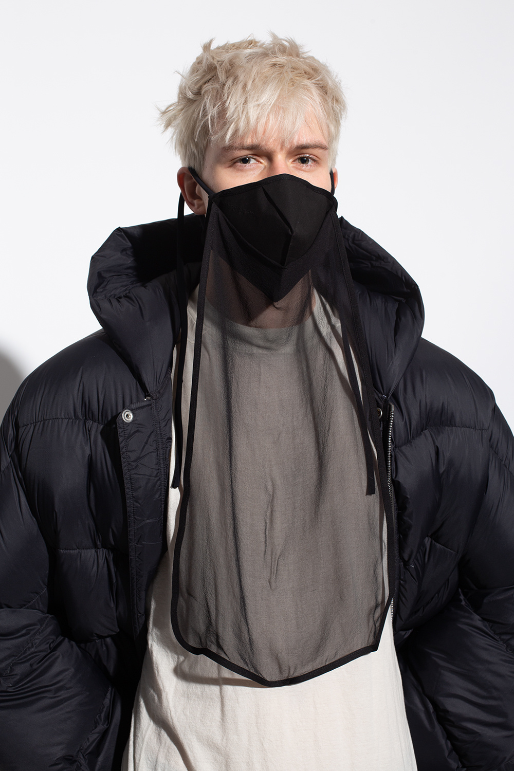 Rick Owens Mask with tie detail
