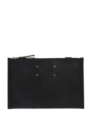 Logo-embroidered clutch od Maison Margiela