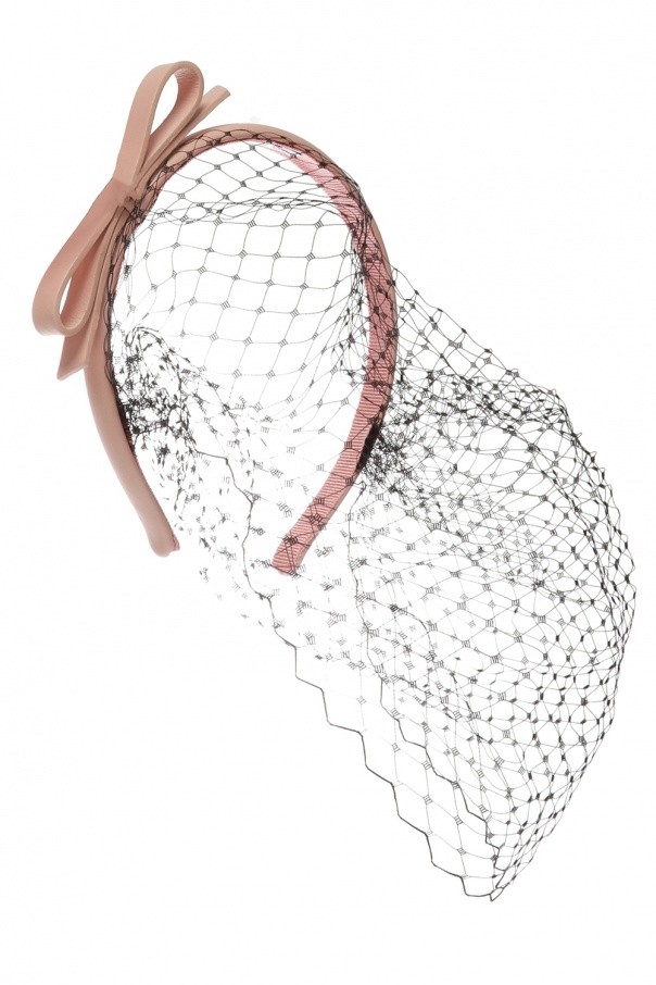 watch e37e7 5040a Headband with tulle trim Red Valentino - Vitkac shop online
