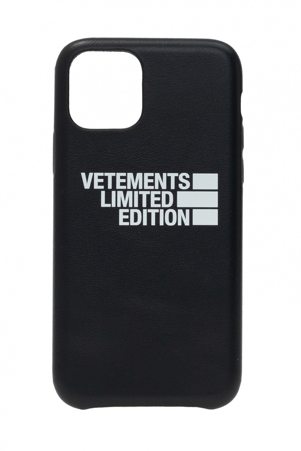 Vetements Branded iPhone 11 Pro case