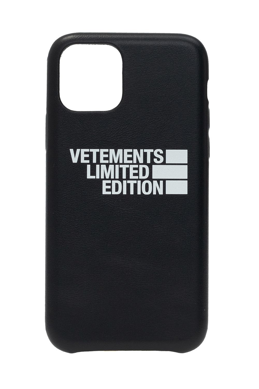 VETEMENTS Branded iPhone 11 Pro case
