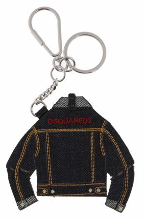 Key ring with denim charm od Dsquared2