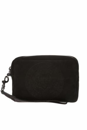 Shoulder bag with embossed pattern od Balmain