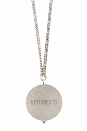 Necklace with open-up charm od Vetements