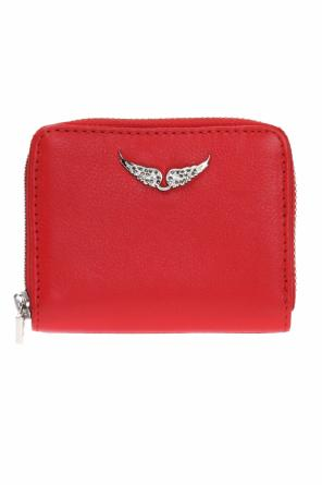 Wallet with a wing-shaped application od Zadig & Voltaire