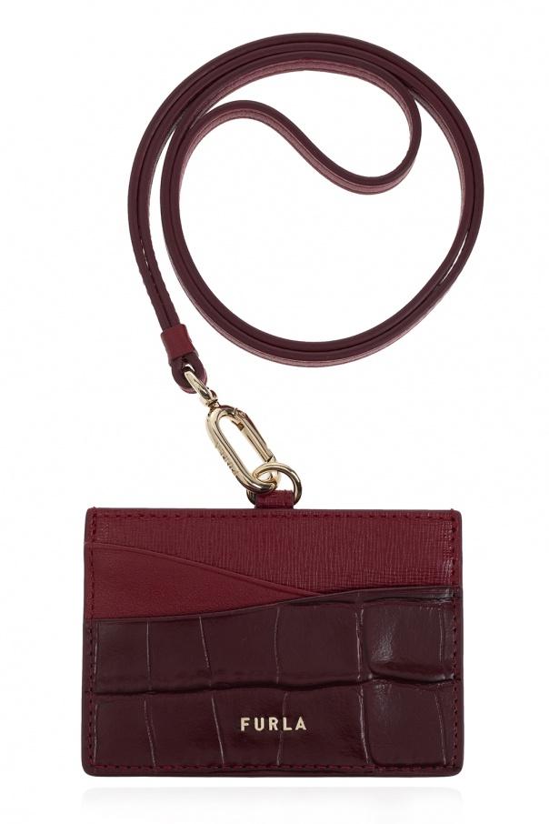 Furla 'Armonia' leather card holder