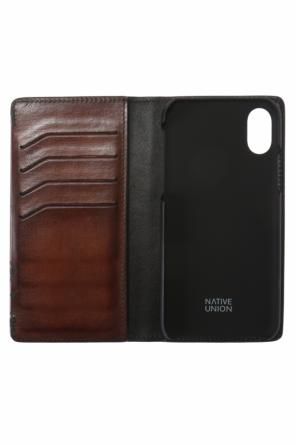 Folding iphone x case od Berluti