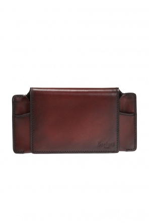 Leather sunglasses case od Berluti