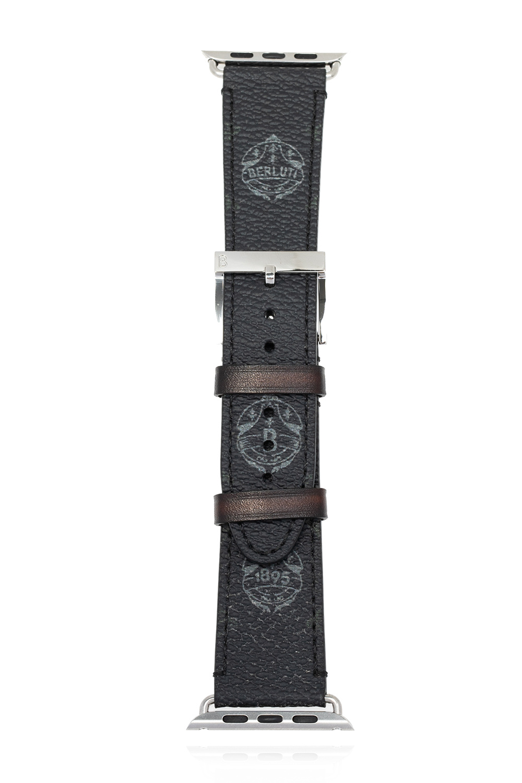 Berluti Apple Watch leather strap