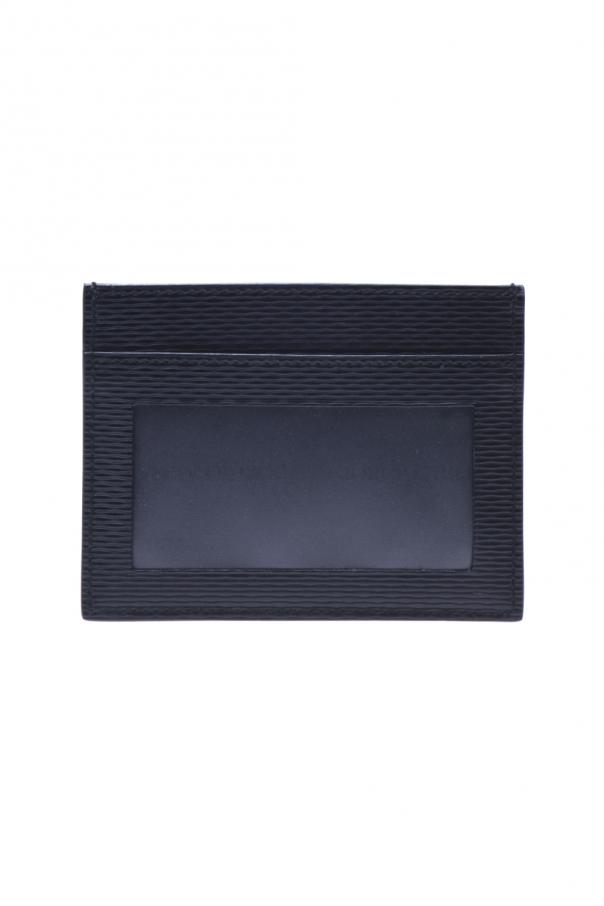 Giorgio Armani Leather Credit Card Holder