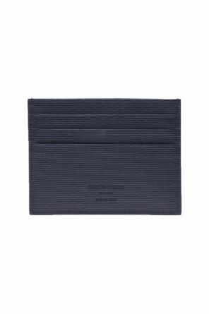Leather credit card holder od Giorgio Armani