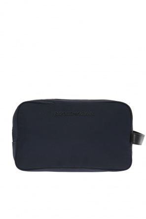 Wash bag with logo od Emporio Armani
