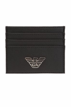 Card case with metal logo od Emporio Armani
