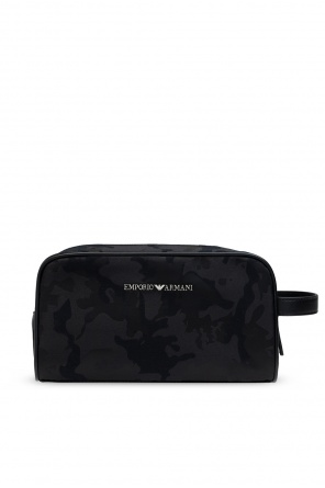 Wash bag with logo od Emporio Armani
