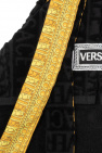 Versace Home Dog dressing gown with logo