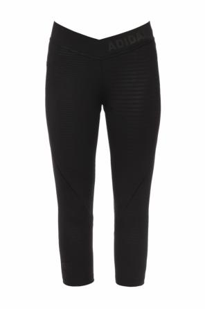 Logo-appliquéd leggings od ADIDAS Performance