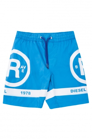 Printed swimming shorts od Diesel
