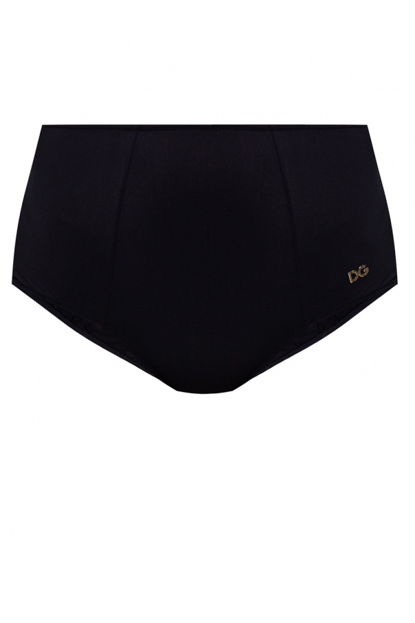 Dolce & Gabbana Patterned swimsuit bottom