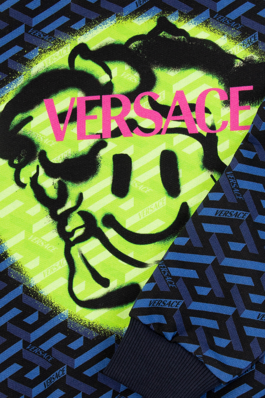 Versace Young Medusa Smiley sweatshirt