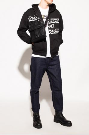 Logo-printed hoodie od Versace