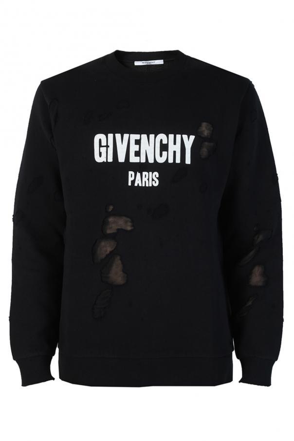 Masywnie Bluza z dziurami Givenchy - sklep internetowy Vitkac AO08