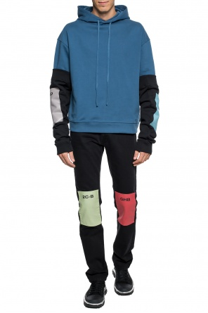 Sweatshirt with attached sleeves od Raf Simons