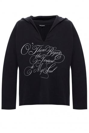 Hooded sweatshirt od Ann Demeulemeester
