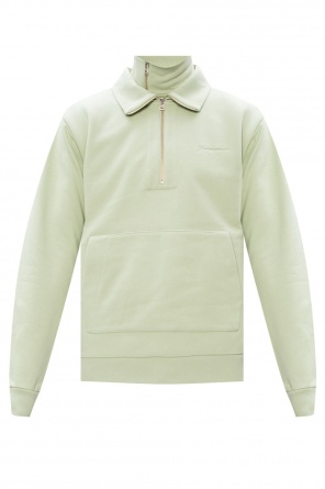 Logo-embroidered sweatshirt od Jacquemus